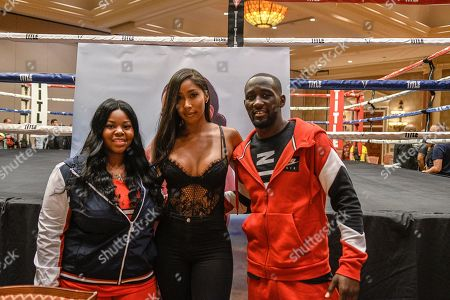 Editorial photo of Boxing Hall of Fame meet and greet, Las Vegas, USA - 17 Aug 2018