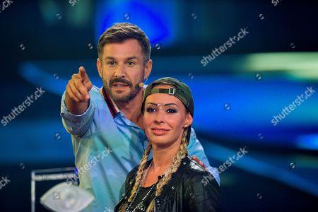 Cora Schumacher and Jochen Schropp  ....