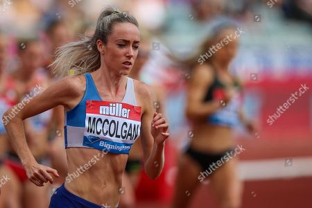 Eilish MCCOLGAN of Great Britain in the Women's 3000m during the Muller Grand Prix 2018 at Alexander Stadium, Birmingham. Picture by Toyin Oshodi