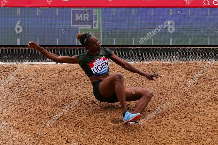 Lorraine Ugen (Great Britain) during the Muller Grand Prix at Alexander Stadium, Birmingham. Picture by Ian Stephen