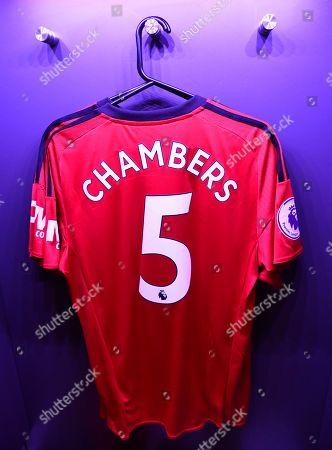Calum Chambers of Fulham shirt