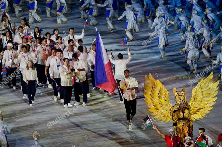 Editorial image of Asian Games Opening Ceremony, Jakarta, Indonesia - 18 Aug 2018