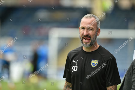 Shaun Derry of Oxford United during the EFL Sky Bet League 1 match between Portsmouth and Oxford United at Fratton Park, Portsmouth