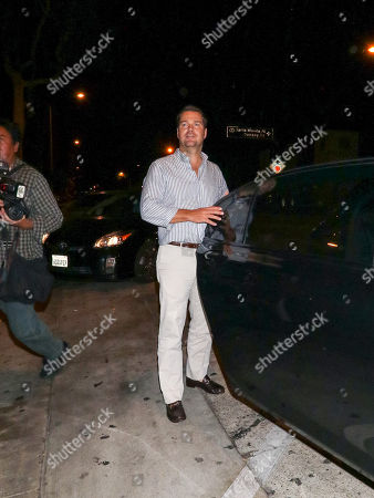 Editorial picture of Chris O'Donnell out and about, Los Angeles, USA - 17 Aug 2018