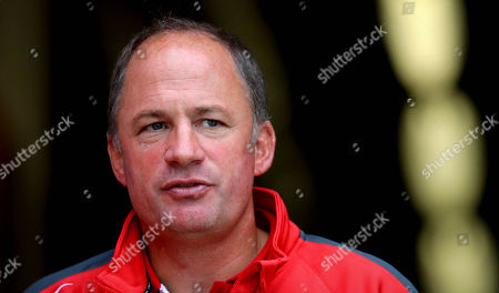 Stock Picture of Ulster vs Gloucester. Gloucester Director of Rugby David Humphreys