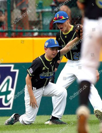Editorial photo of LLWS Puerto Rico Australia Baseball, South Williamsport, USA - 18 Aug 2018