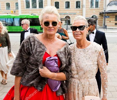 Eva Dahlgren and Efva Attling