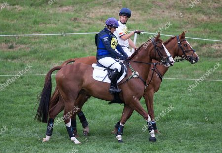 Zara Tindall and Harry Meade