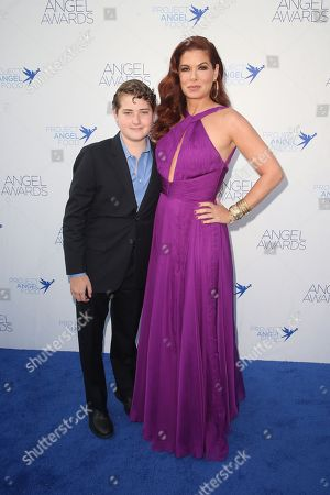 Stock Picture of Debra Messing, Roman Walker Zelman