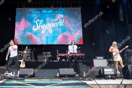 Amy Sheppard, George Sheppard, Emma Sheppard