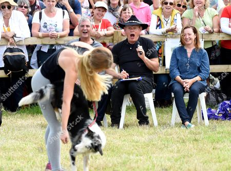 Martin Clunes and Neil Morrissey judge Best Trick in the dog competition