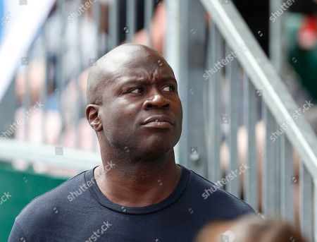 Former Rugby League (and Union) player Martin Offiah