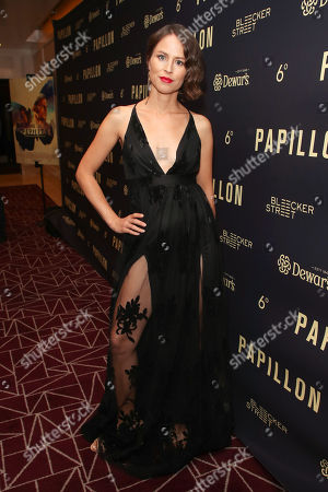 Editorial image of 'Papillon' film premiere, Arrivals, Los Angeles, USA - 19 Aug 2018
