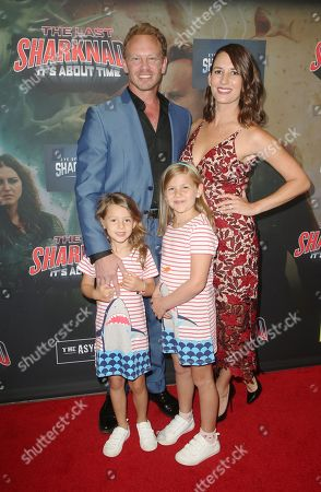 Ian Ziering, Erin Kristine Ludwig and family