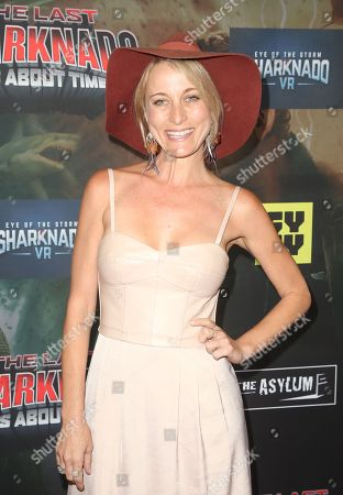Editorial image of 'The Last Sharknado: It's About Time' film premiere, Los Angeles, USA - 19 Aug 2018