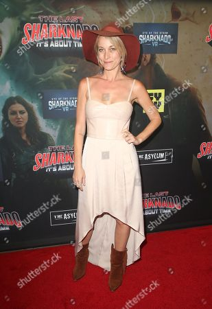 Editorial picture of 'The Last Sharknado: It's About Time' film premiere, Los Angeles, USA - 19 Aug 2018