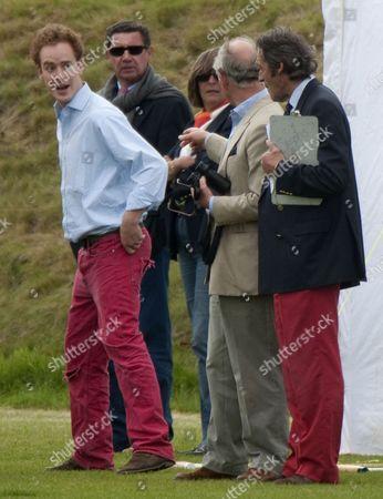 Prince Charles and Tom Inskip