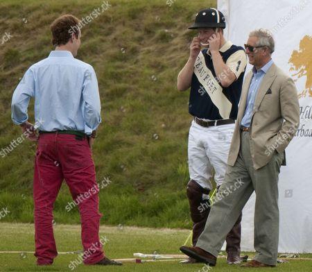 Tom Inskip, Prince Harry and Prince Charles
