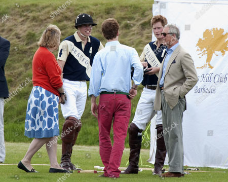 Prince William, Tom Inskip, Prince Charles and Prince Harry