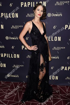 """Editorial photo of LA Special Screening of """"Papillon"""", West Hollywood, USA - 19 Aug 2018"""