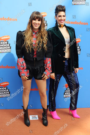 Editorial picture of Nickelodeon Mexico Kids' Choice Awards Mexico, Arrivals, Mexico City - 19 Aug 2018