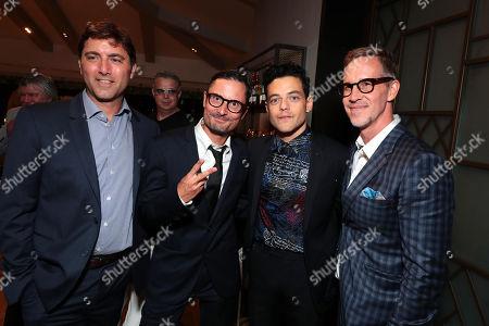 Producer David Koplan, Director Michael Noer, Rami Malek and Producer Joey McFarland