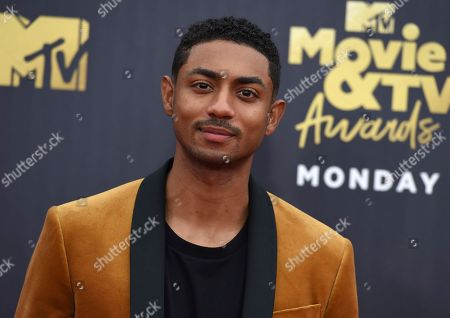 Steven Silver arrives at the MTV Movie and TV Awards at the Barker Hangar, in Santa Monica, Calif