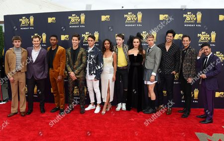 Editorial image of 2018 MTV Movie and TV Awards - Arrivals, Santa Monica, USA - 16 Jun 2018