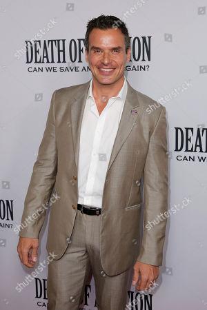 "Antonio Sabato Jr. arrives at the LA Premiere of ""Death of a Nation"" at the Regal Cinemas at L.A. Live, in Los Angeles"