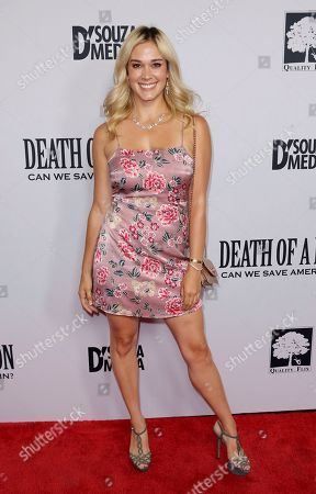 """Stock Picture of Lauren Compton arrives at the LA Premiere of """"Death of a Nation"""" at the Regal Cinemas at L.A. Live, in Los Angeles"""