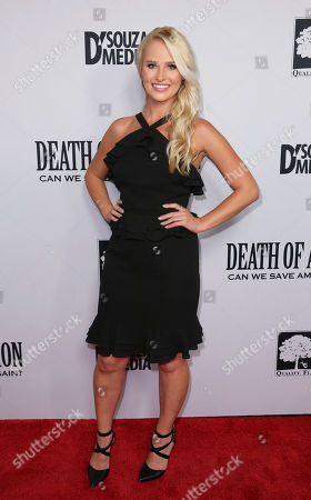 """Tomi Lahren arrives at the LA Premiere of """"Death of a Nation"""" at the Regal Cinemas at L.A. Live, in Los Angeles"""