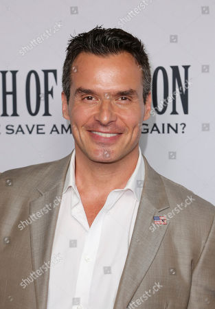 """Stock Photo of Antonio Sabato Jr. arrives at the LA Premiere of """"Death of a Nation"""" at the Regal Cinemas at L.A. Live, in Los Angeles"""