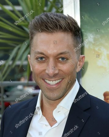 """Chad Hodge arrives at the LA Premiere of """"The Darkest Minds"""" at the Arclight Hollywood, in Los Angeles"""