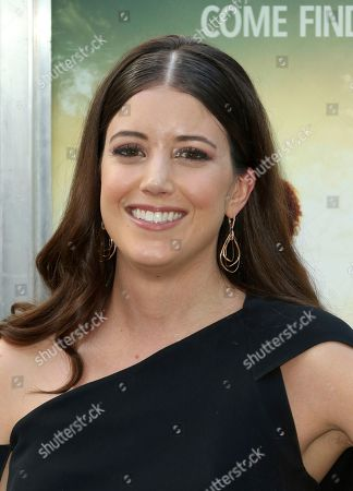 """Stock Picture of Alexandra Bracken arrives at the LA Premiere of """"The Darkest Minds"""" at the Arclight Hollywood, in Los Angeles"""
