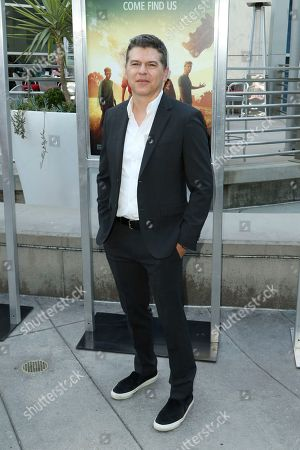 "Stock Photo of Dan Levine arrives at the LA Premiere of ""The Darkest Minds"" at the Arclight Hollywood, in Los Angeles"