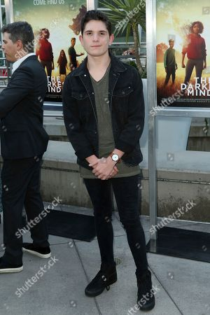 """Peyton Wich arrives at the LA Premiere of """"The Darkest Minds"""" at the Arclight Hollywood, in Los Angeles"""