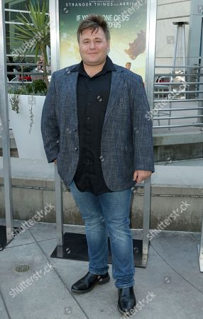 """Benjamin Wallfisch arrives at the LA Premiere of """"The Darkest Minds"""" at the Arclight Hollywood, in Los Angeles"""