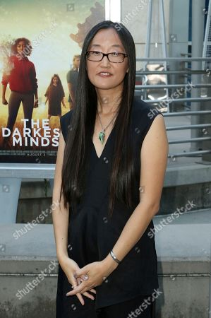 """Jennifer Yuh Nelson arrives at the LA Premiere of """"The Darkest Minds"""" at the Arclight Hollywood, in Los Angeles"""