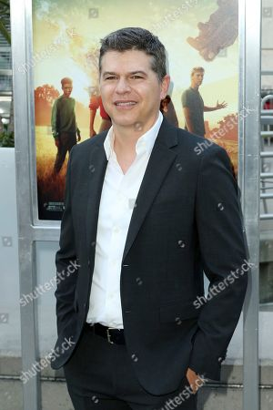 "Dan Levine arrives at the LA Premiere of ""The Darkest Minds"" at the Arclight Hollywood, in Los Angeles"