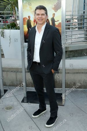 "Stock Picture of Dan Levine arrives at the LA Premiere of ""The Darkest Minds"" at the Arclight Hollywood, in Los Angeles"