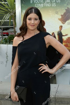 """Alexandra Bracken arrives at the LA Premiere of """"The Darkest Minds"""" at the Arclight Hollywood, in Los Angeles"""