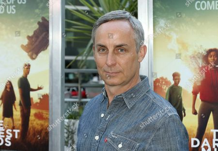 "Wallace Langham arrives at the LA Premiere of ""The Darkest Minds"" at the Arclight Hollywood, in Los Angeles"