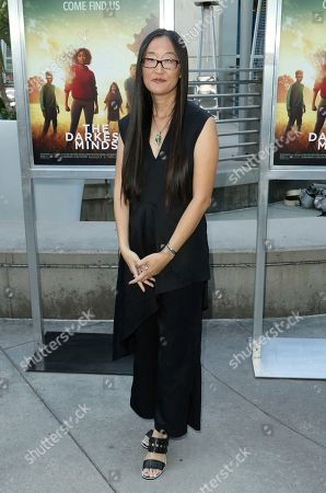"""Stock Image of Jennifer Yuh Nelson arrives at the LA Premiere of """"The Darkest Minds"""" at the Arclight Hollywood, in Los Angeles"""
