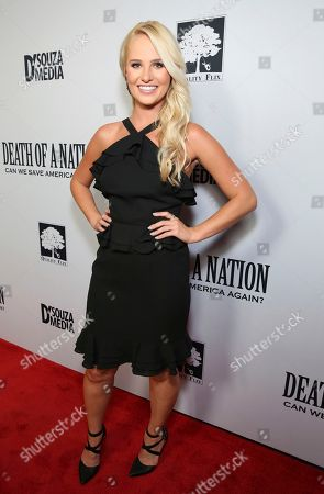 """Tomi Lahren seen at the premiere of """"Death of a Nation"""", in Los Angeles"""