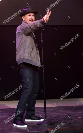 Justin Jeffre from 98 Degrees performs at KTUphoria 2018 at Jones Beach Theater, in Wantagh, New York