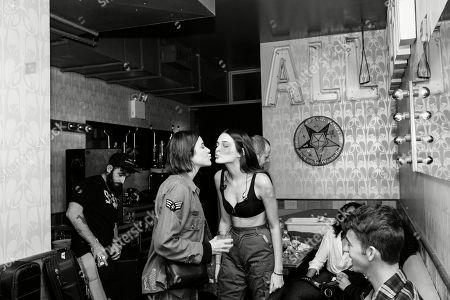 Editorial picture of POPSHOP NYC Presents Charlotte Lawrence, Brooklyn, USA - 14 Jun 2018