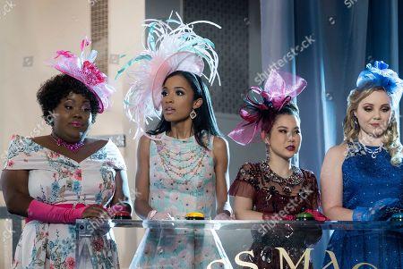 Ashley D Kelley as Dee Marshall, Erinn Westbrook as Magnolia Barnard, Irene Choi as Dixie Sinclair