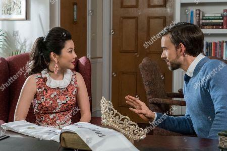 Irene Choi as Dixie Sinclair, Christopher Gorham as Bob Barnard