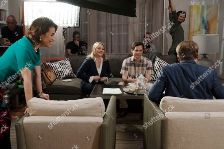 Alyssa Milano as Coralee Armstrong, Christine Taylor as Gayle Keene, Dallas Roberts as B Armstrong