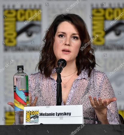 "Editorial picture of 2018 Comic-Con - ""Castle Rock"" Panel, San Diego, USA - 20 Jul 2018"